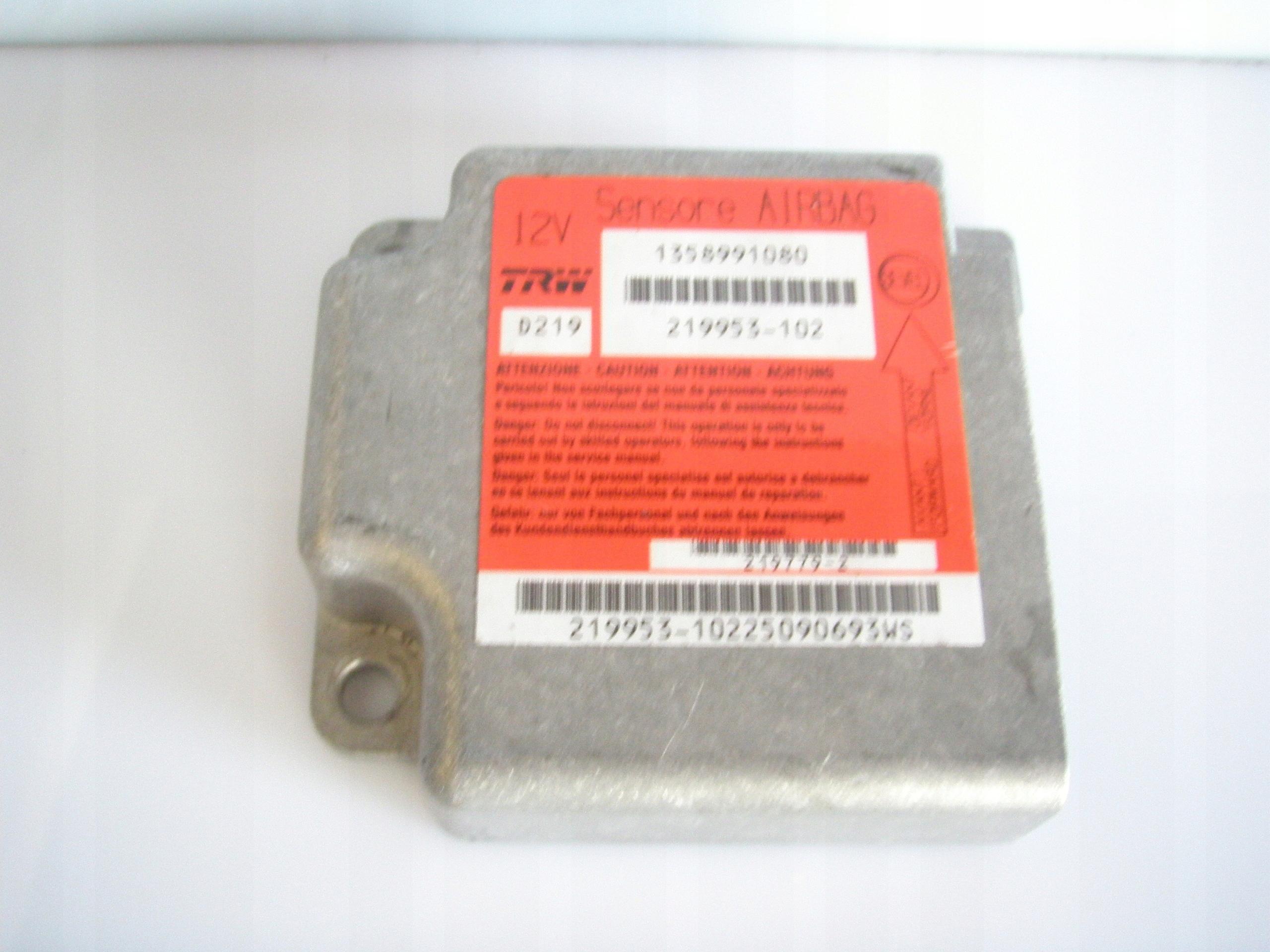 Sensor Airbag Fiat Ducato 1358991080 7570733614