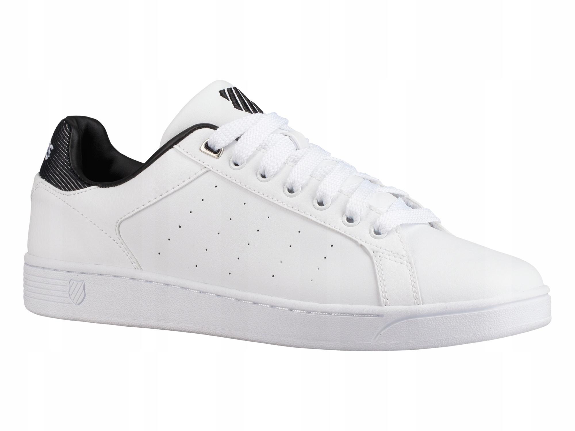 19d688e4c158e S2467 K-SWISS tenisówki buty męskie białe r. 42 - 7577031246 ...