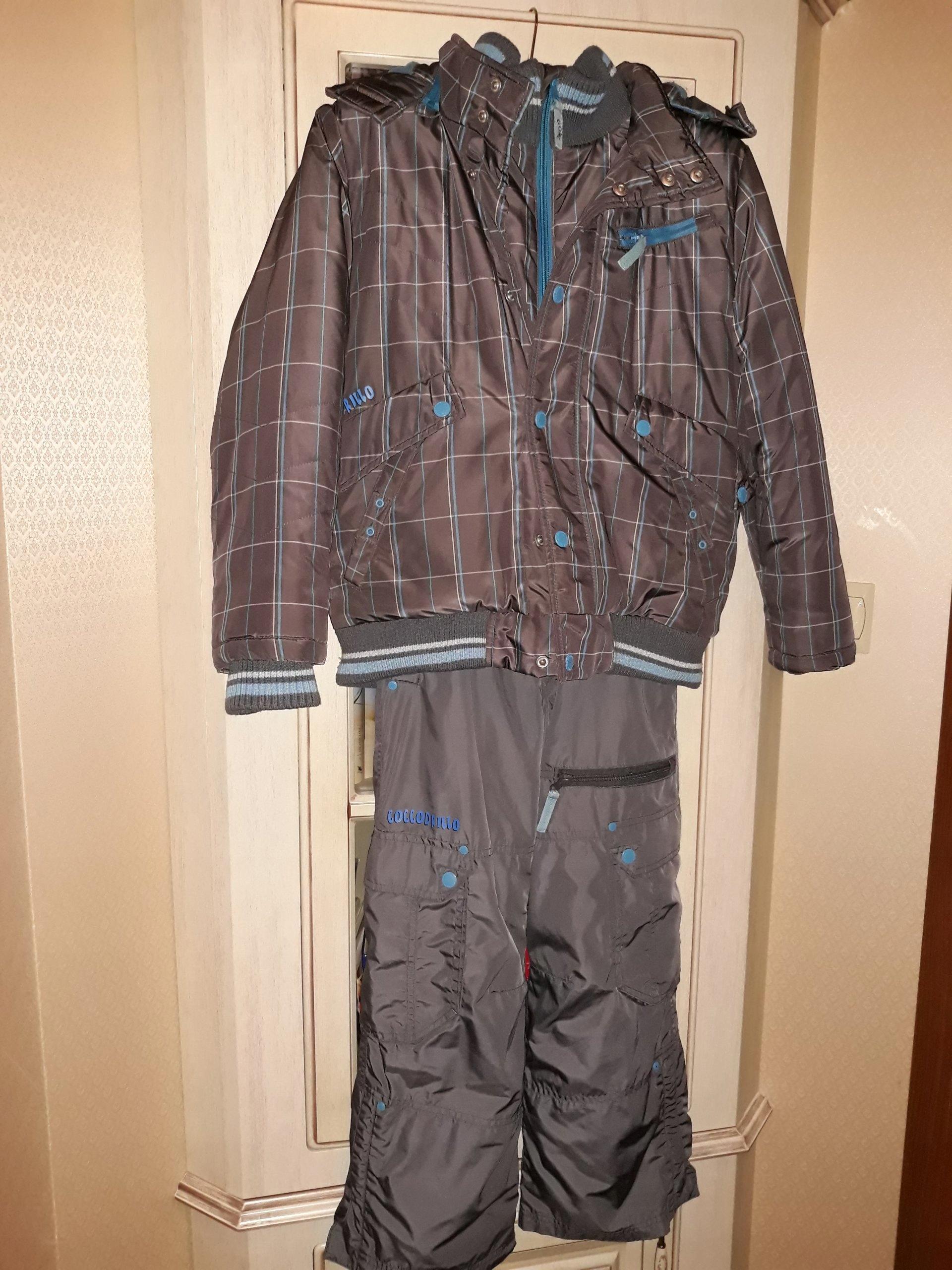 58ab0868521bf Kurtka i spodnie chłopięce COCCODRILLO roz. 134 - 7160298632 ...