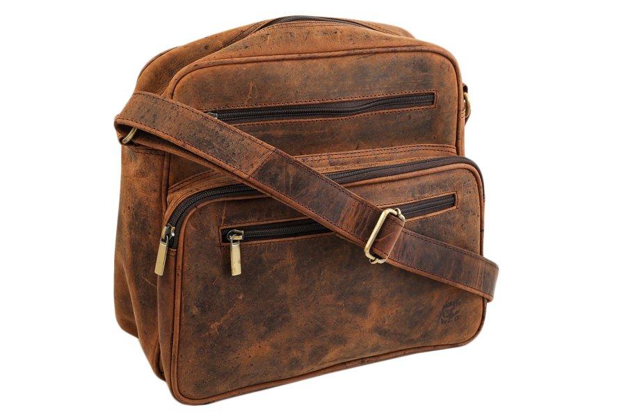 aeb0076e4a336 AlwaysWild piękna skórzana torba oldskul vintage - 7310105952 ...