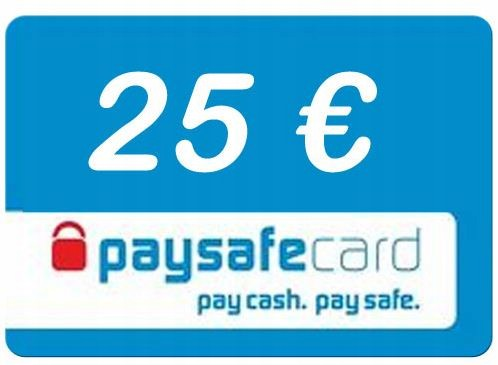 Ongebruikt Paysafecard 25 euro PSC 25 euro - 7526090607 - oficjalne archiwum LO-25