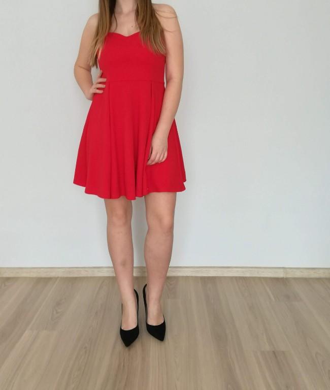 8cdac38f Piękna czerwona sukienka Mohito jak NOWA rozmiar M - 7262740252 ...