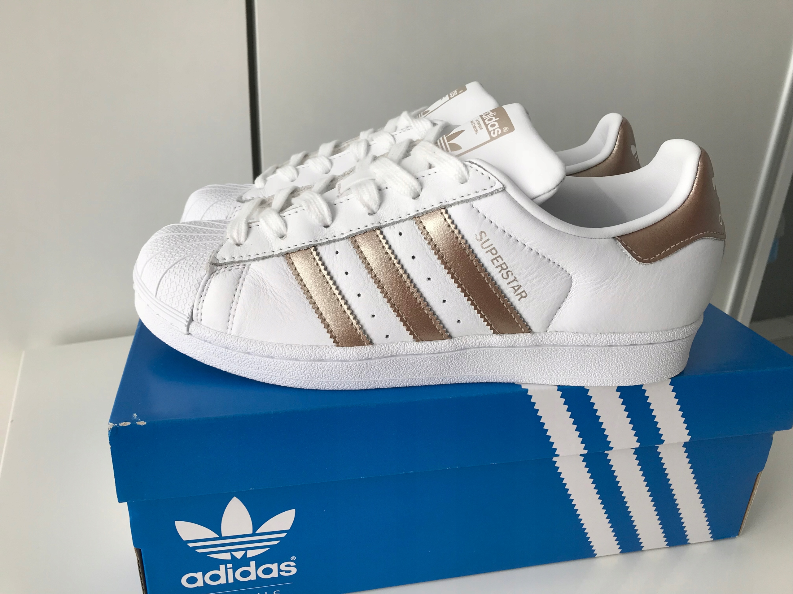 big sale 4bb5a 6fb83 Adidas originals superstar 40 rose gold - 7623177312 ...