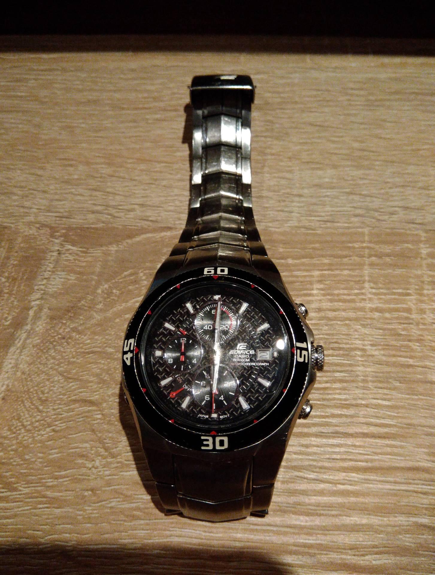31f8f55ef611 Zegarek męski CASIO EDIFICE EF-514 - 7183797922 - oficjalne archiwum ...