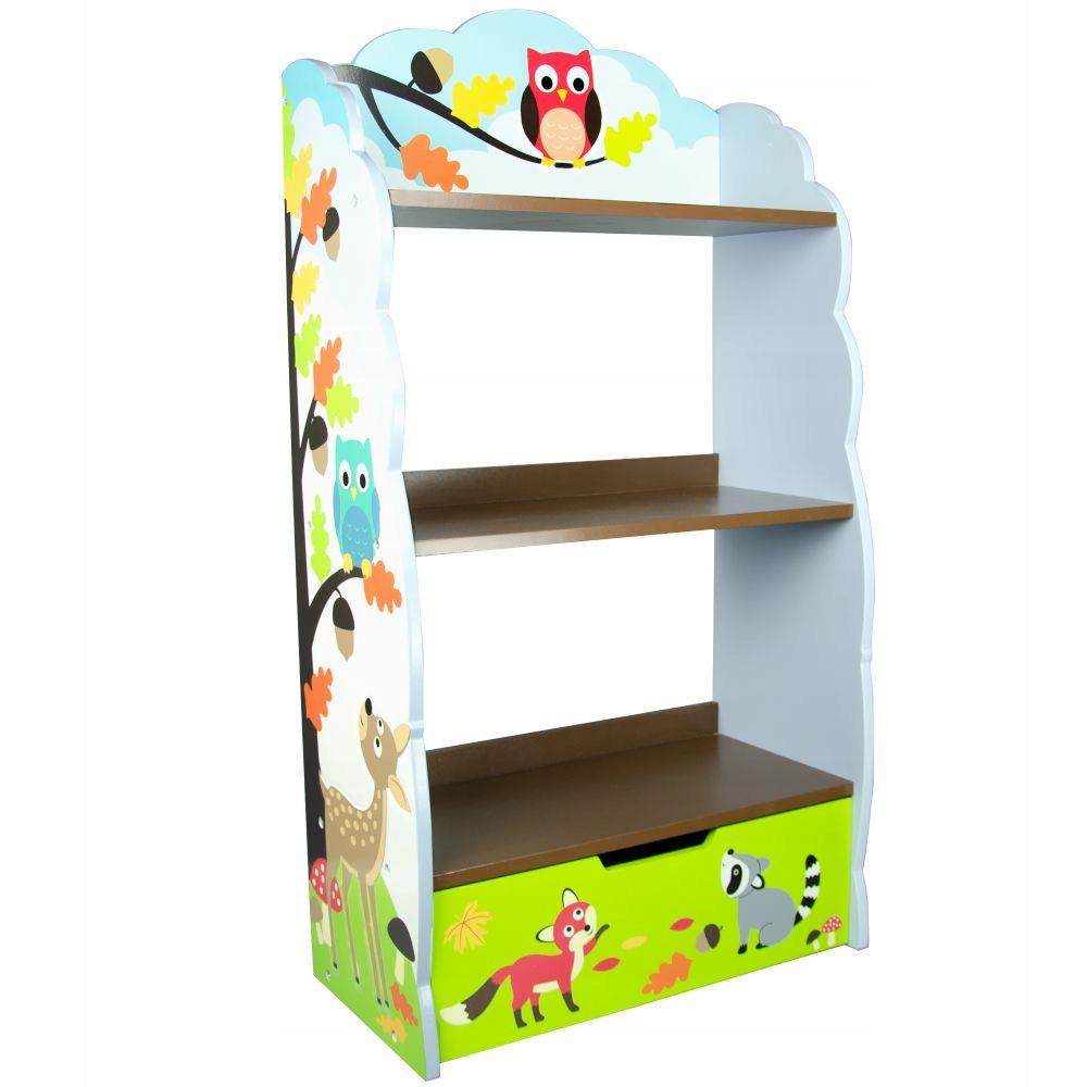 Regał Na Książki I Zabawki Do Pokoju Dziecięcego