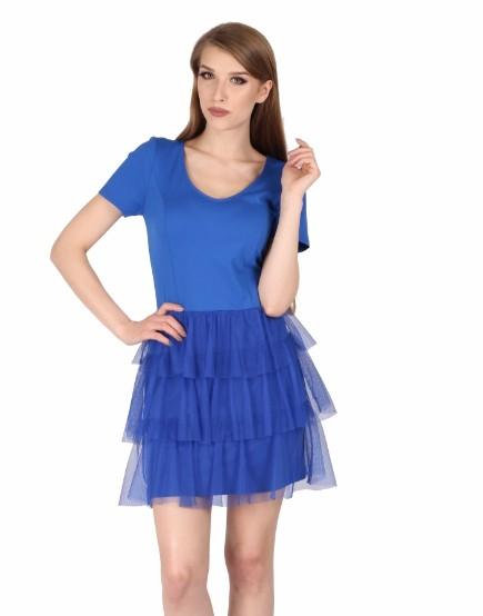 a64c54ee43 Sukienka koktajlowa z falbankami!!! Roz  38 - 7459797960 - oficjalne ...