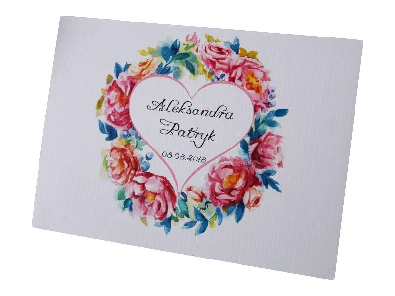 Zaproszenia ślubne Na ślub Cywilny Kwiaty Ekspress 6962117373