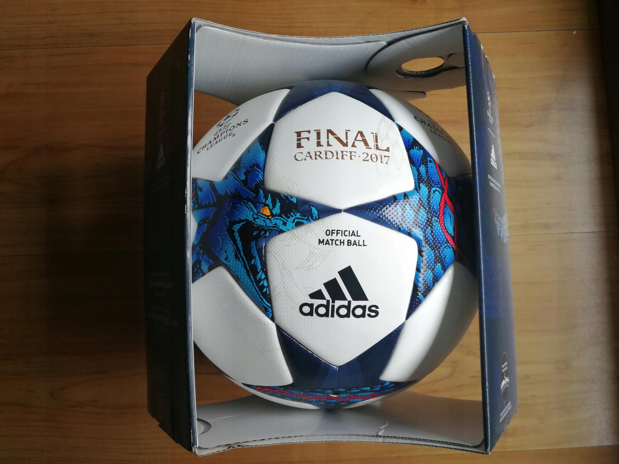 bd22289112238 Oficjalna Piłka Meczowa ADIDAS FINALE Cardiff OMB - 7587926875 ...