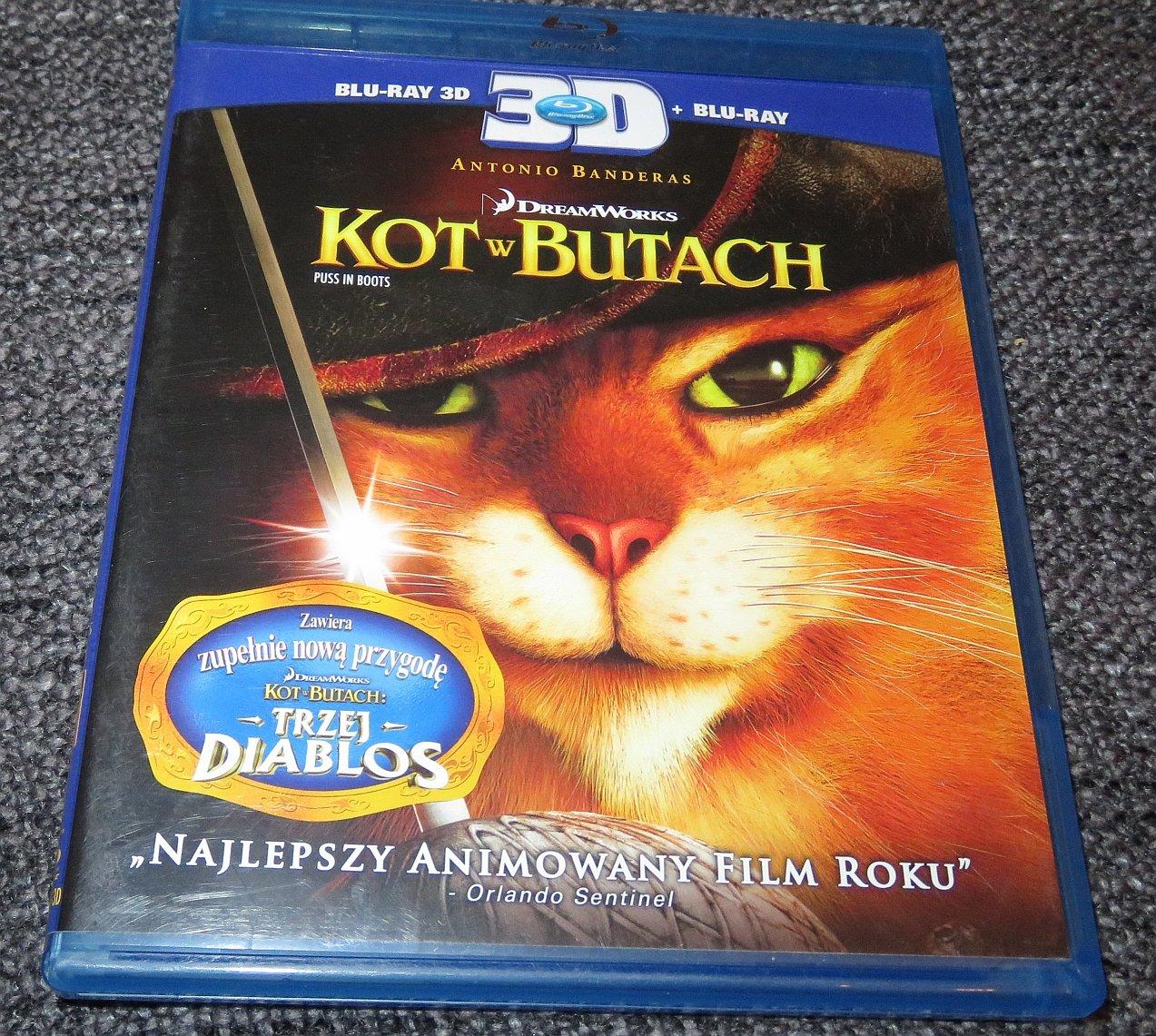 Blu Ray Kot W Butach 2011 Puss In Boots 2d 7080524988