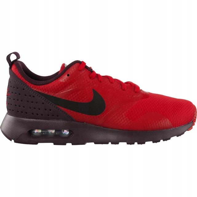 b09286fe051e Czerwone Buty Nike Air Max Tavas (705149-601) - 45 - 7523672198 ...