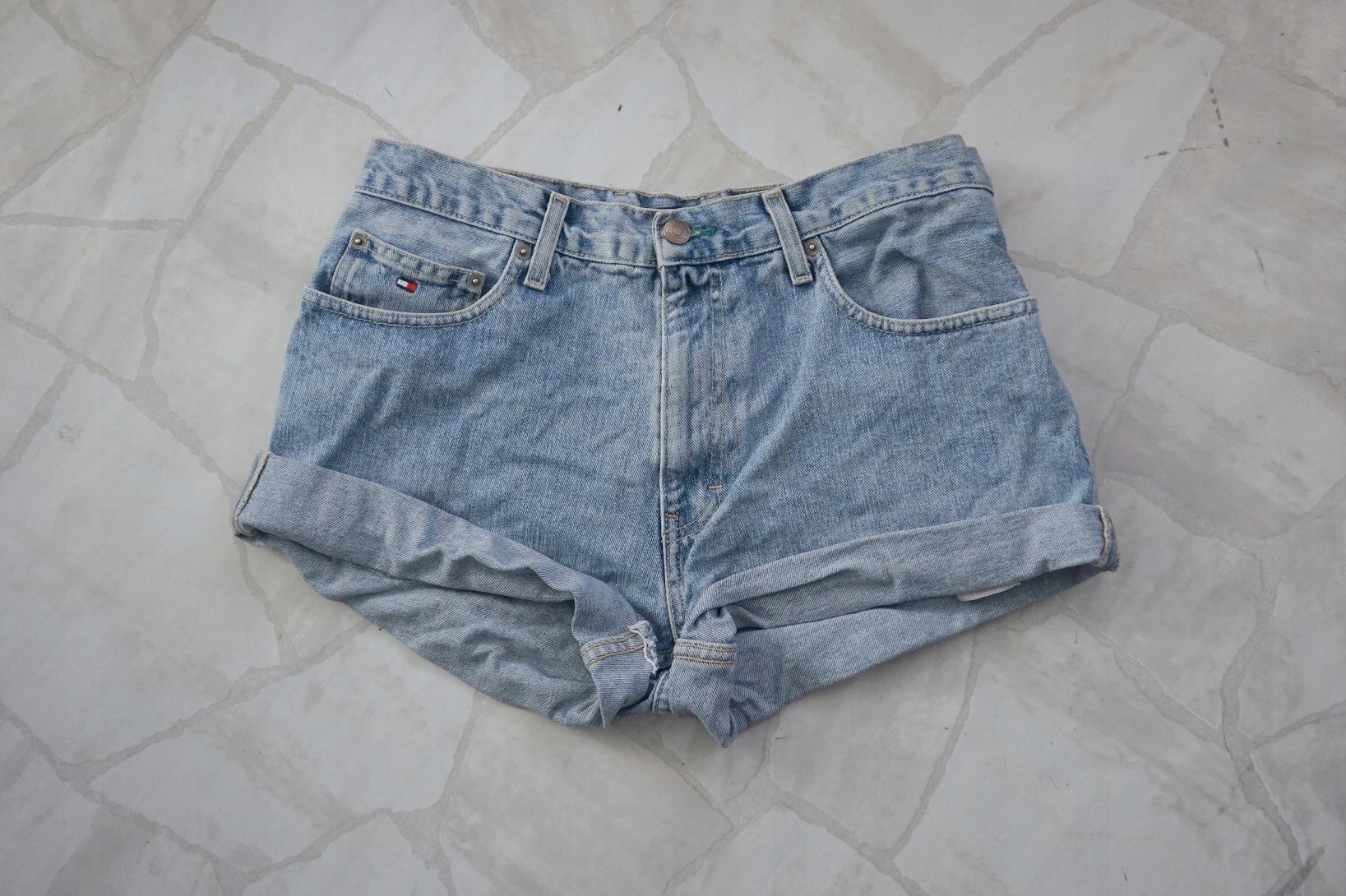 6ba602364b576 Tommy Hilfiger jeansowe szorty L 33/34 - 7503651857 - oficjalne ...