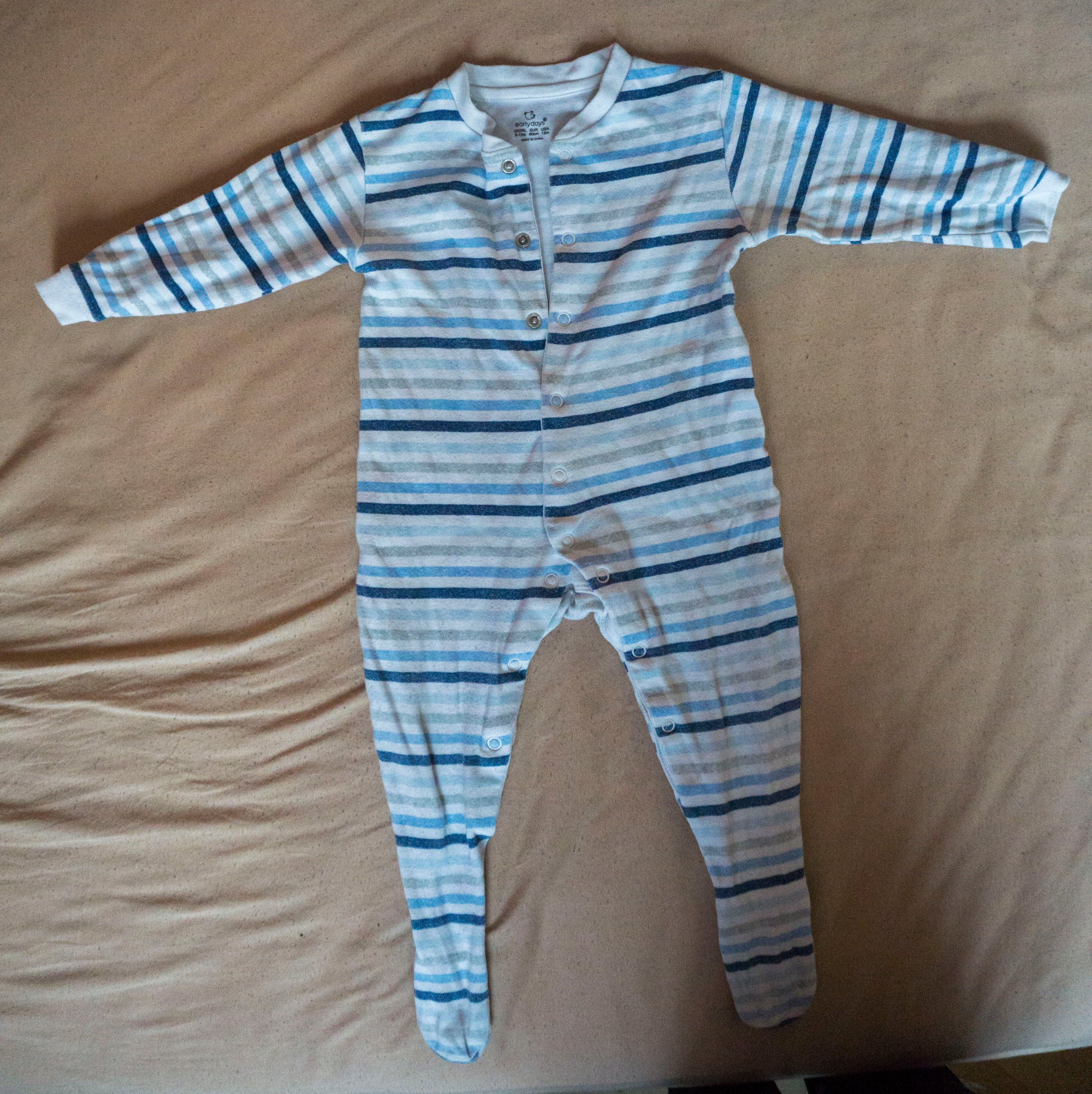 Pajacyk piżamka Early days 9-12 80