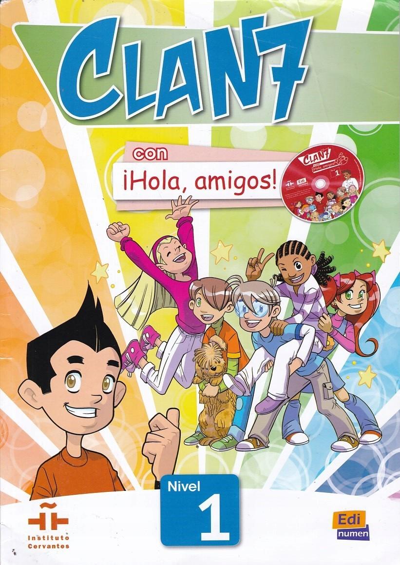 podręcznik do hiszpańskiego clan 7