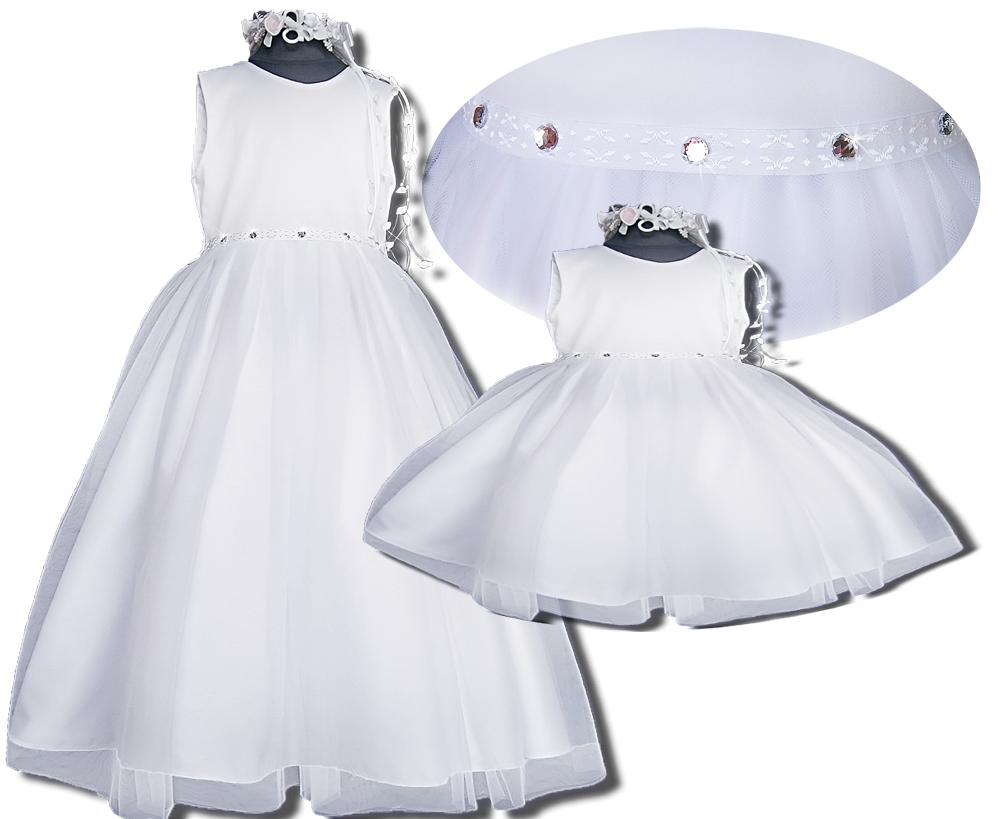 313ccffc41 PL DIAMENTOWA sukienka. Chrzest