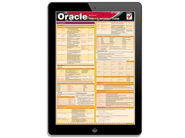 Tablice informatyczne. Oracle