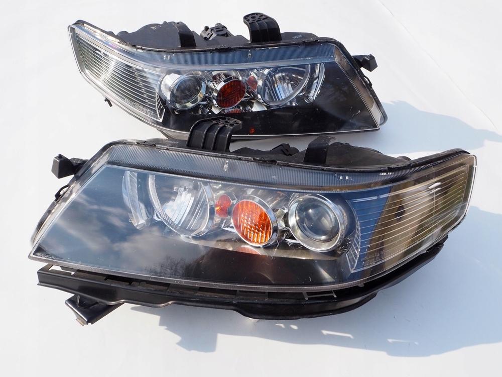 Honda Accord Vii 7 Lampy Przednie Zwykłe Europa 7624354615
