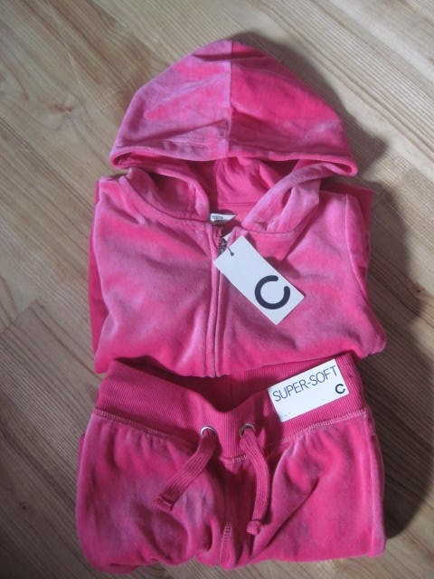 Nowa bluza spodnie dres komplet 110/116 Cubus