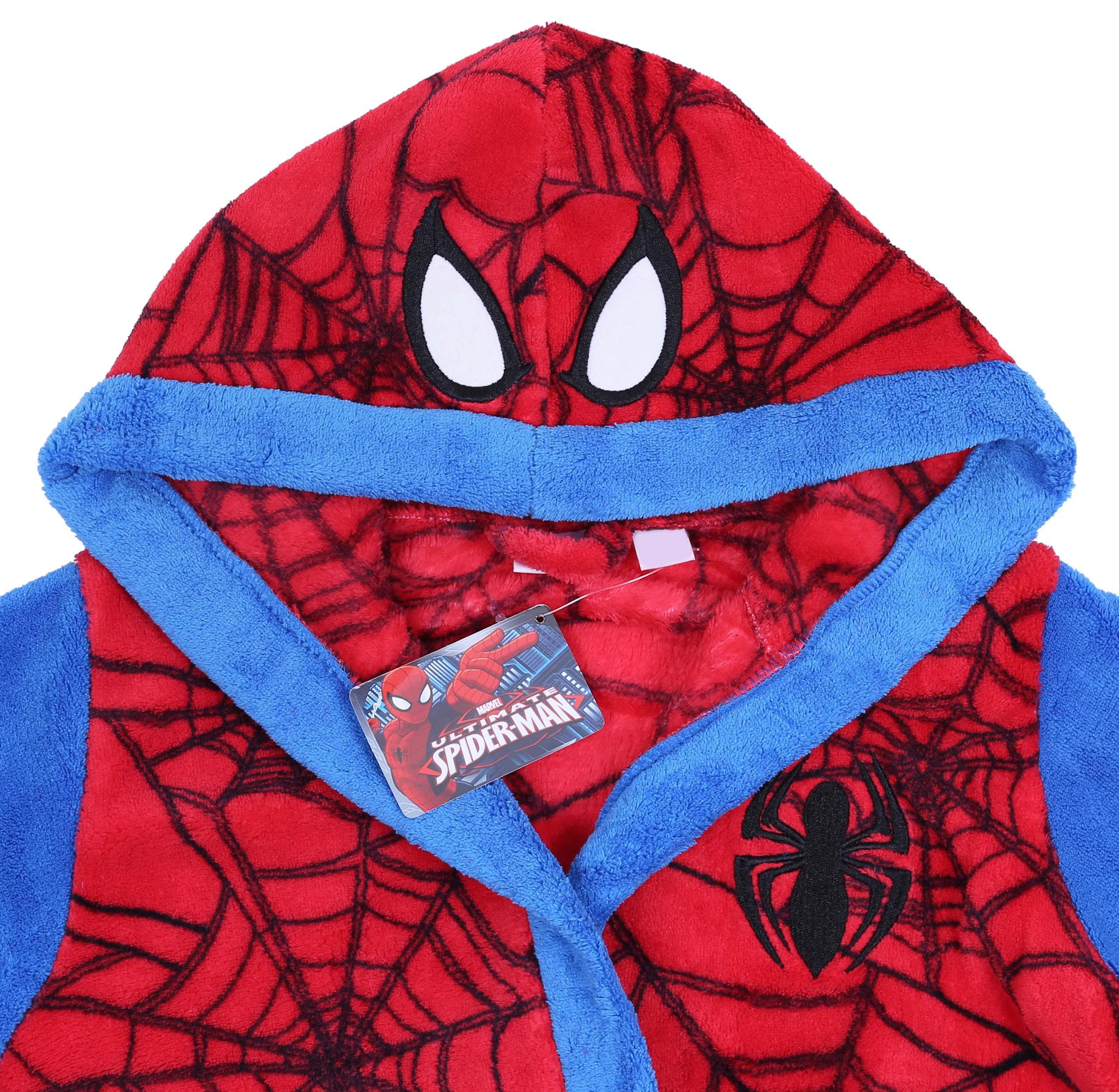 97df14f3bf980b Czerwony szlafrok Spiderman MARVEL 2-3 lat 98 cm - 6750683989 ...