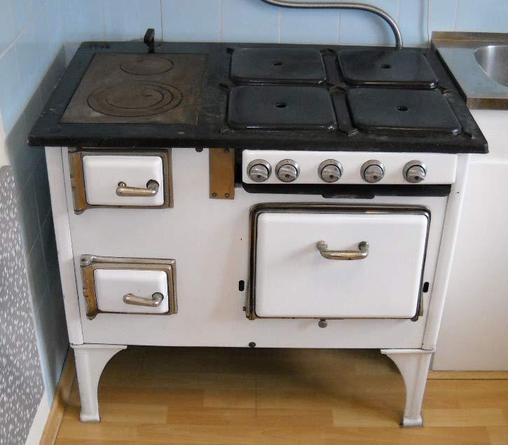 Kuchnia Gaz Węgiel Lata 50 Te Unikat Sprawna