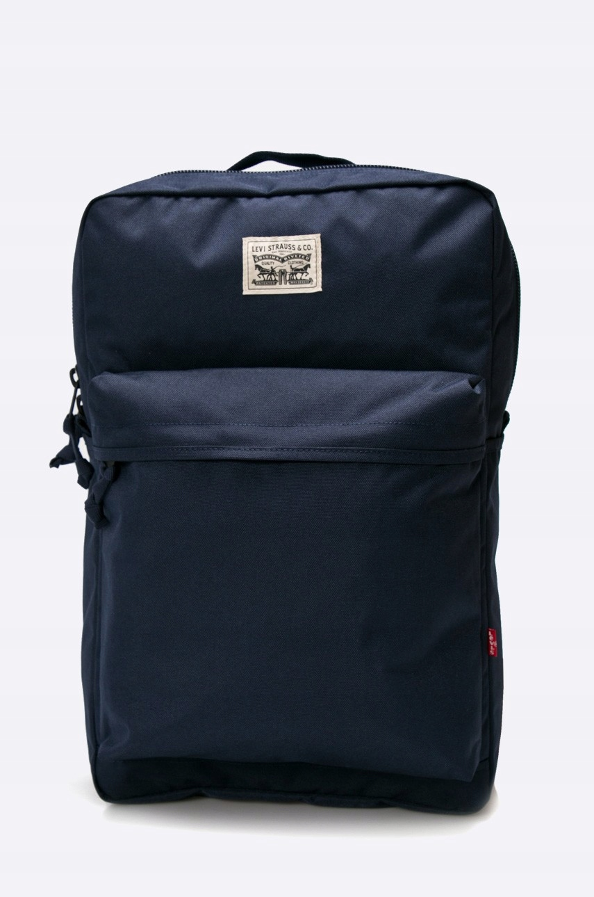 4fff2c456a1ca Plecak laptop - LEVI'S SQUARE - NAVY BLUE - 7297703021 - oficjalne ...
