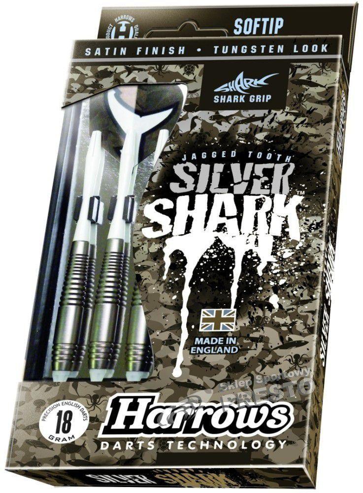 HARROWS Rzutki do dart softip Silver Shark 18g