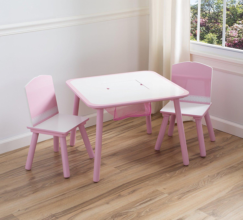 Delta Stolik Do Pokoju Dziecka Z Krzesełkami Róż