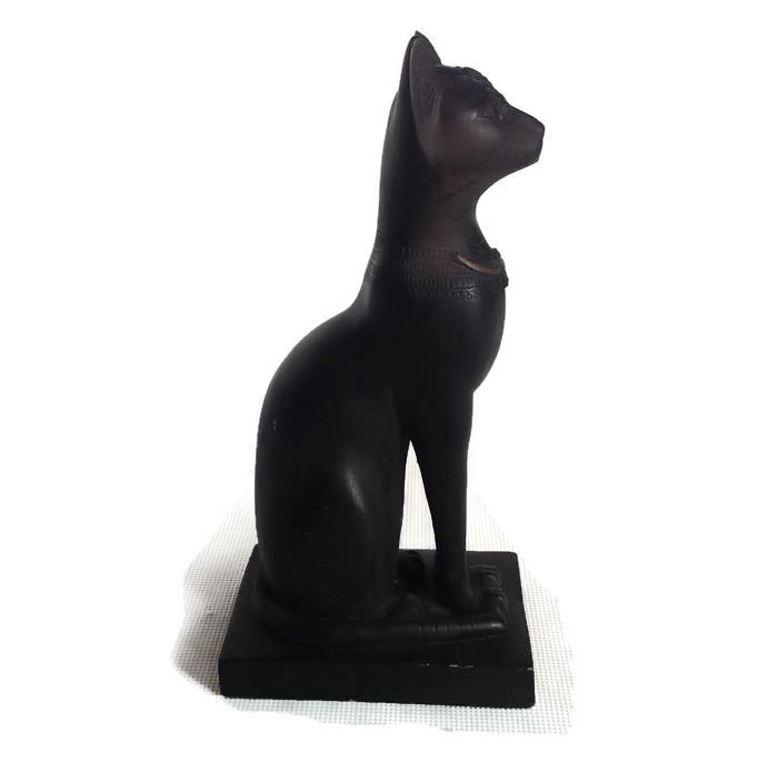 Figurka Orientalna Kot Egipski 7228279007 Oficjalne Archiwum Allegro