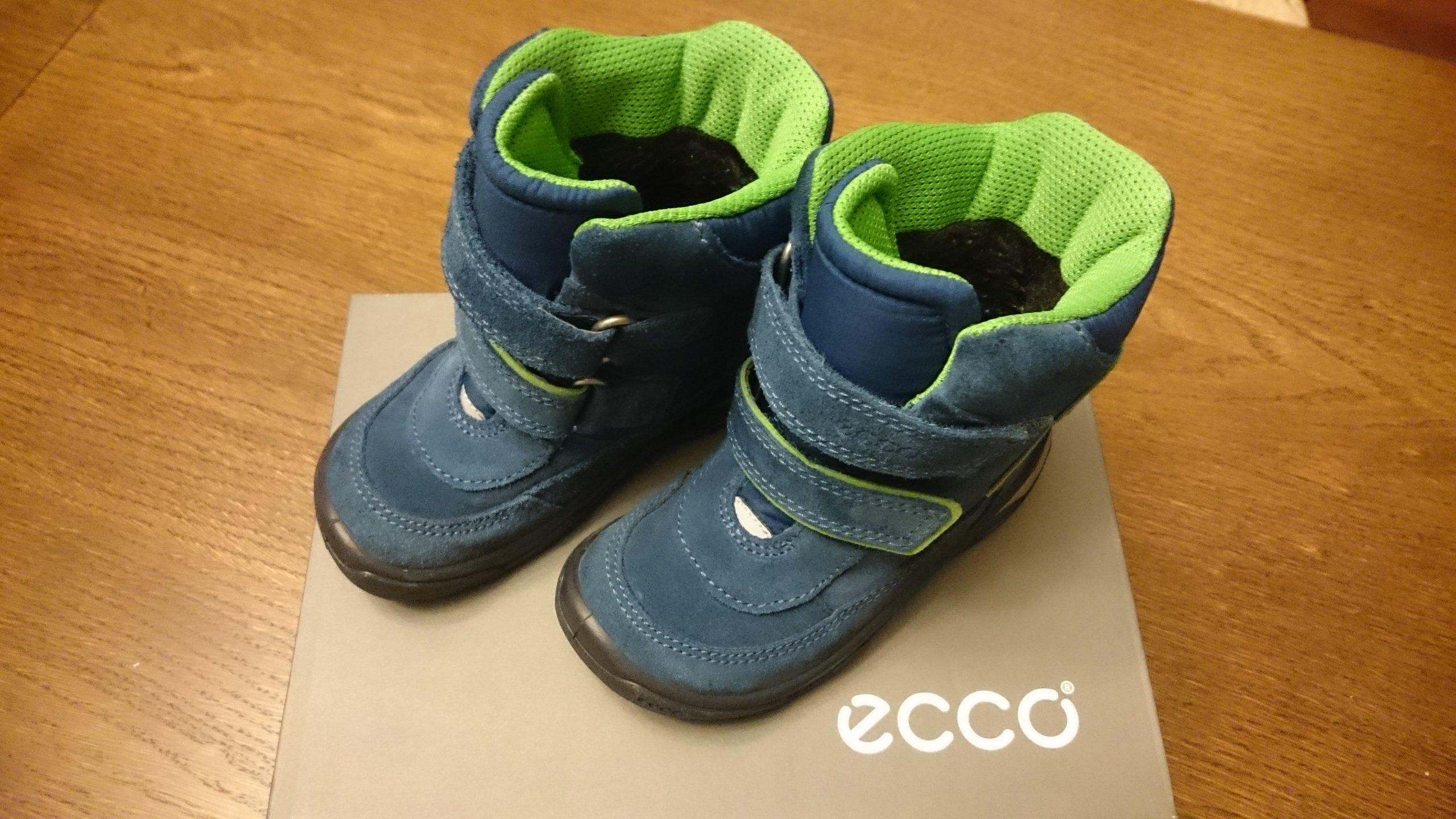 6e084d31 Kozaki buty zimowe dziecięce Ecco Snowride r. 24 - 7035284618 ...