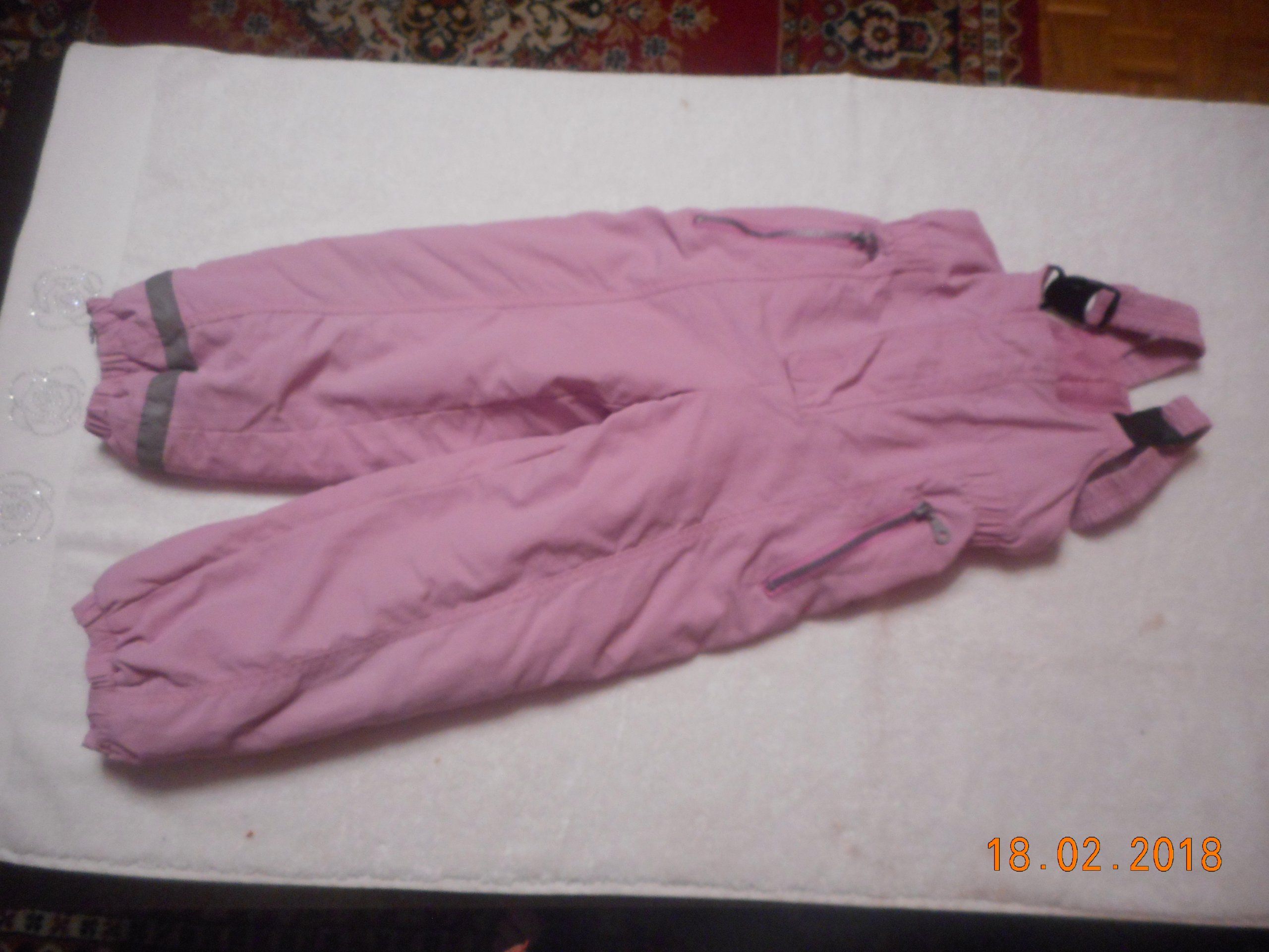 2847f873109ac0 Spodnie ocieplane dziewczęce rozmiar 110 - 7192586163 - oficjalne ...