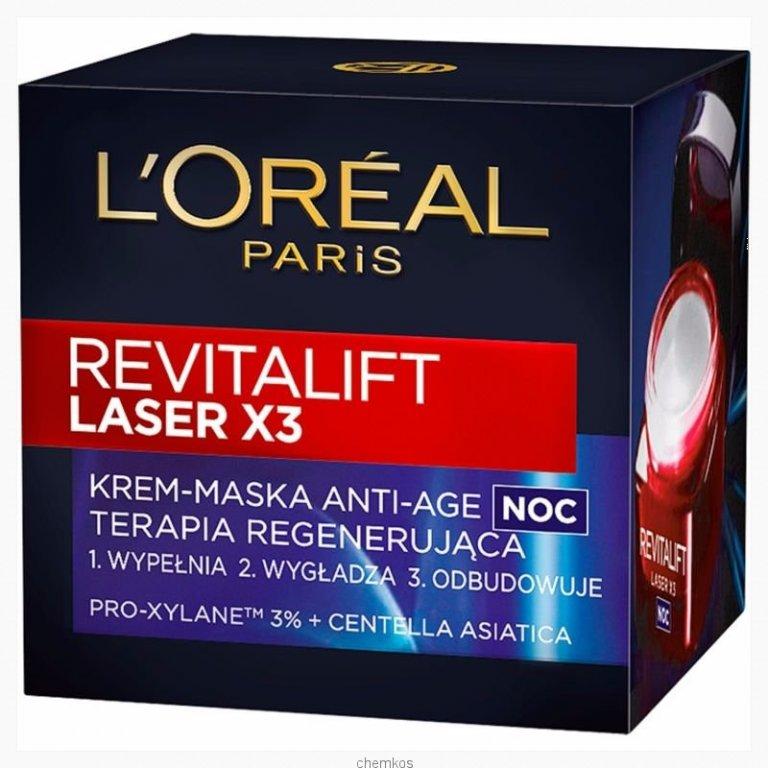 Loreal Revitalift Laser X3 krem na NOC 50 ml.
