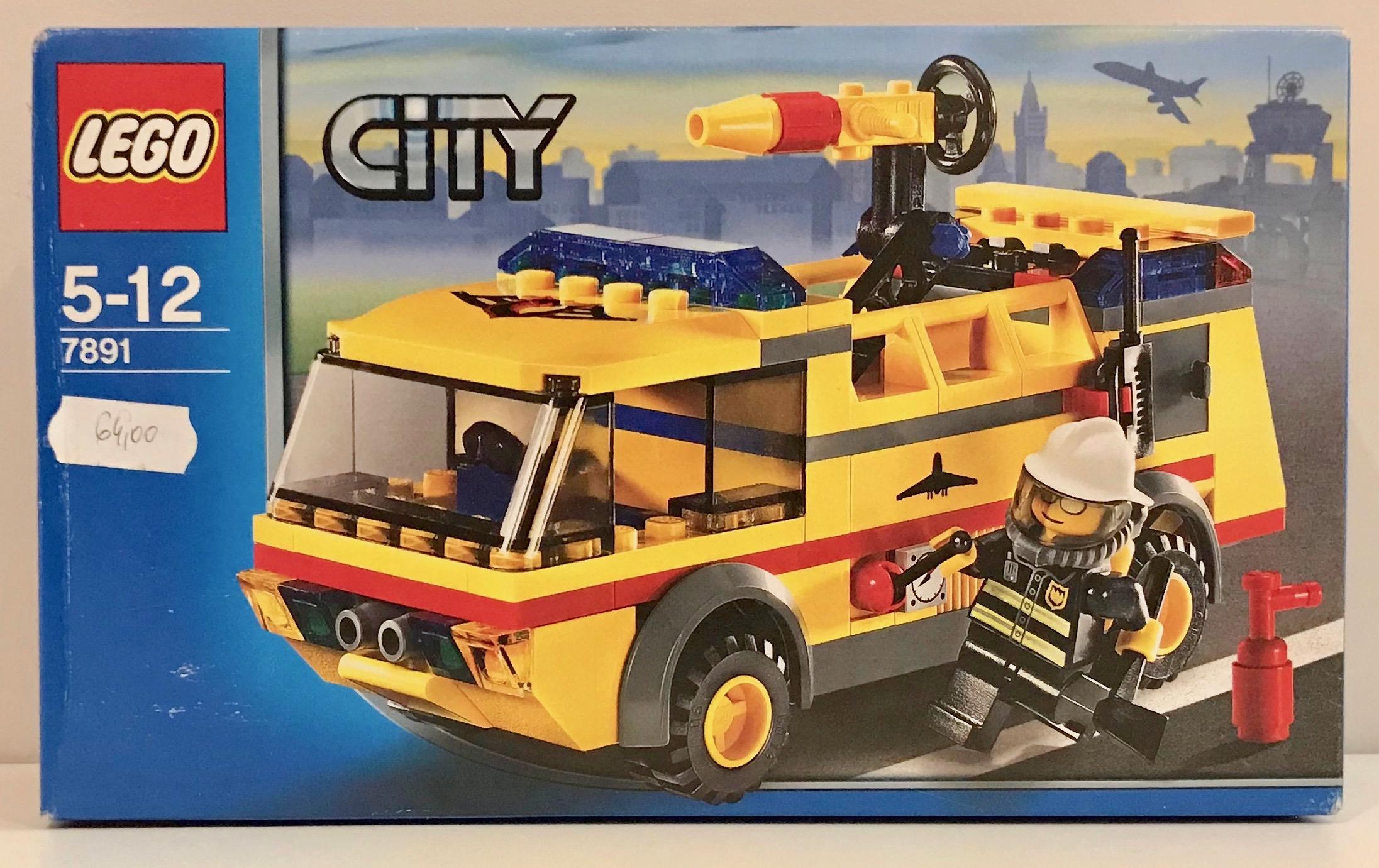Lego City 7891 Straż Pożarna Lotnisko Nowy Unikat 7075559055