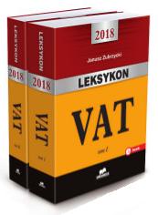 LEKSYKON VAT 2018 ZUBRZYCKI UNIMEX TOM 1,2 WYS 24H