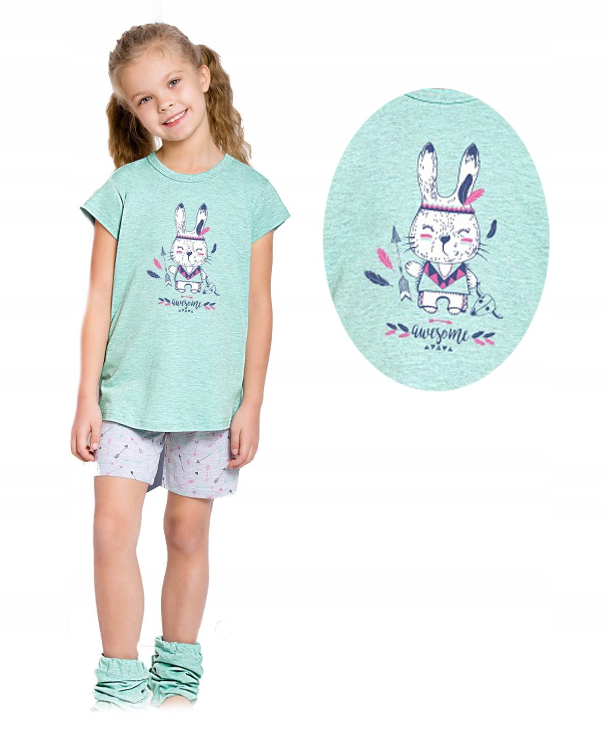 90e8abfeb5974d piżama TARO MATYLDA 2094 zając INDIANIN / 104 - 7396599728 ...