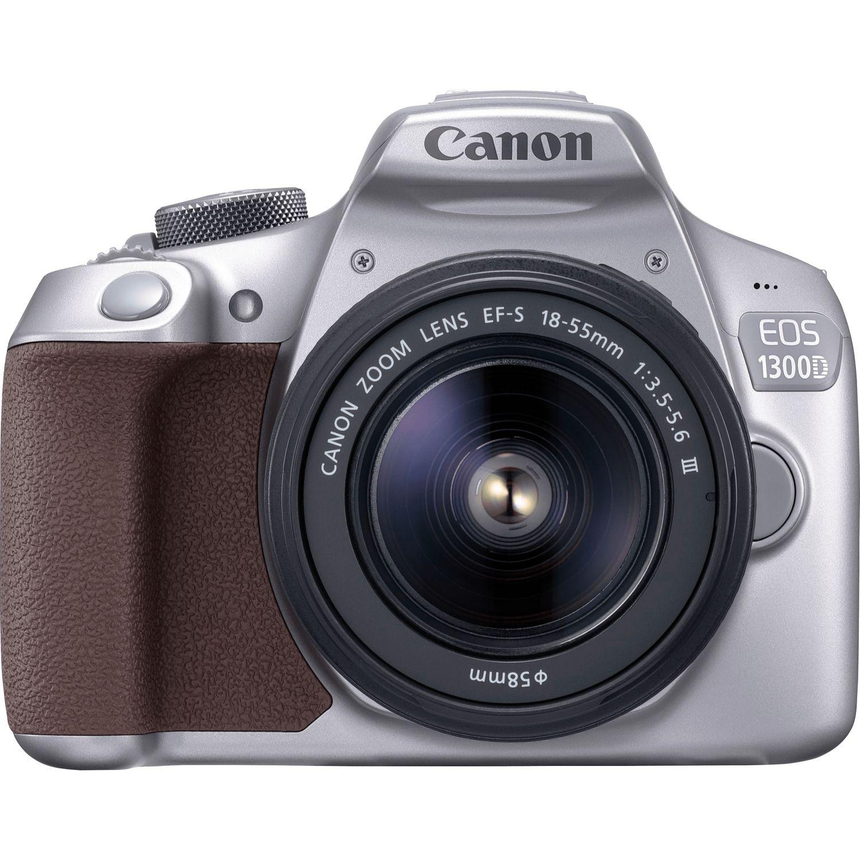 black&silver aparat CANON EOS 1300D