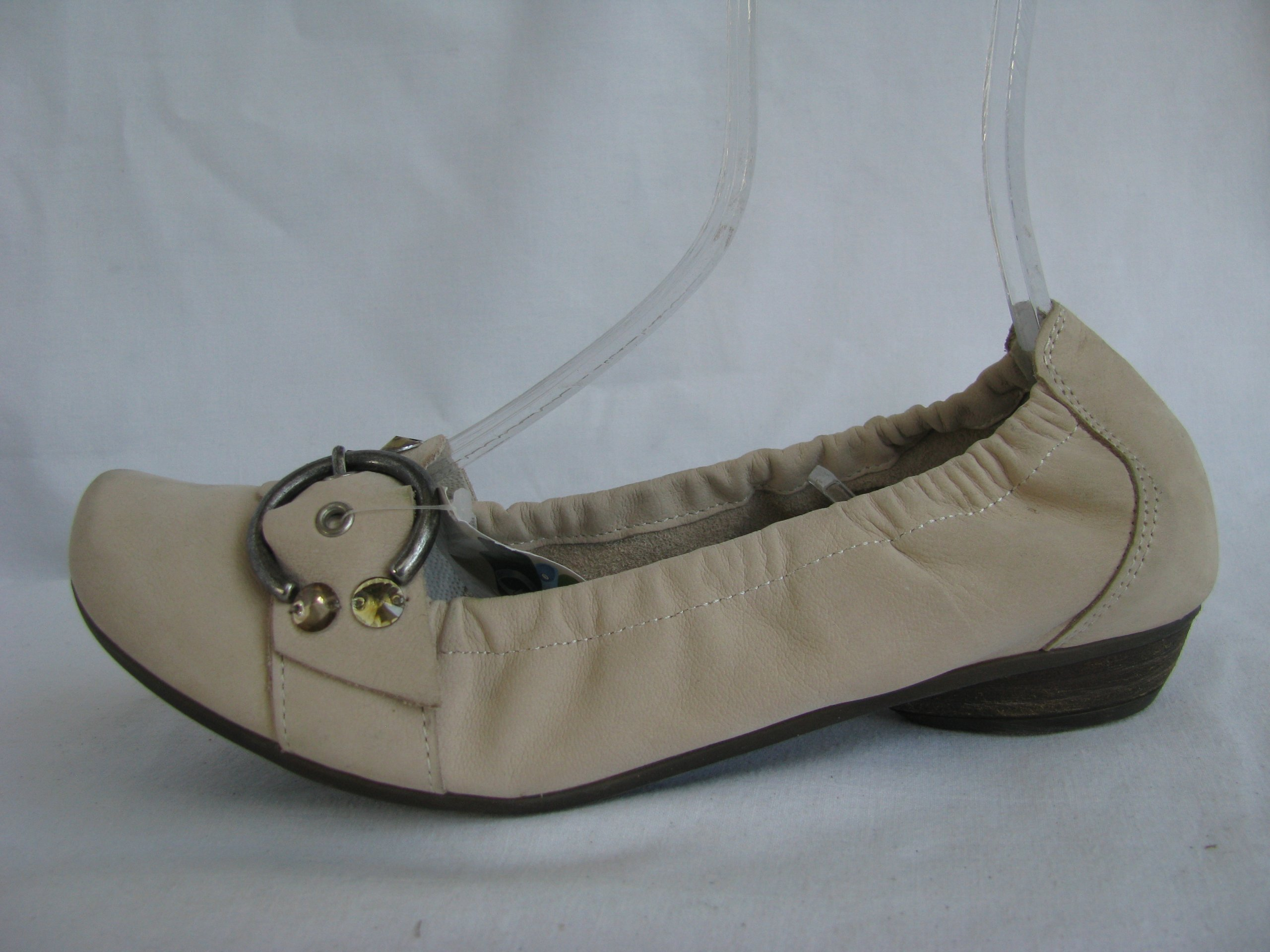 d3762c0f25cde REMONTE DORNDORF baleriny r 38 (24,5cm) skóra nowe - 7327196299 ...