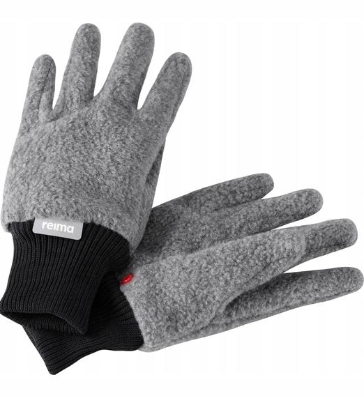 Rękawice polarowe Reima, Osk Szare 3-4