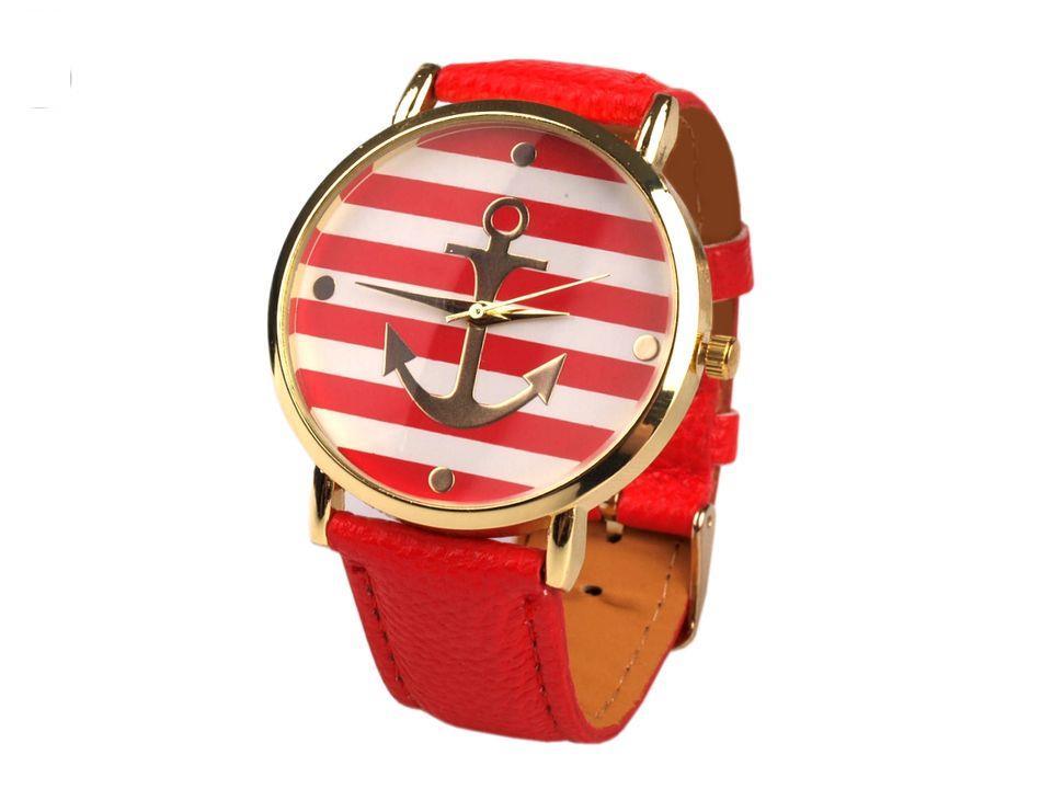 Zegarek damski 4x23 cm z kotwicą
