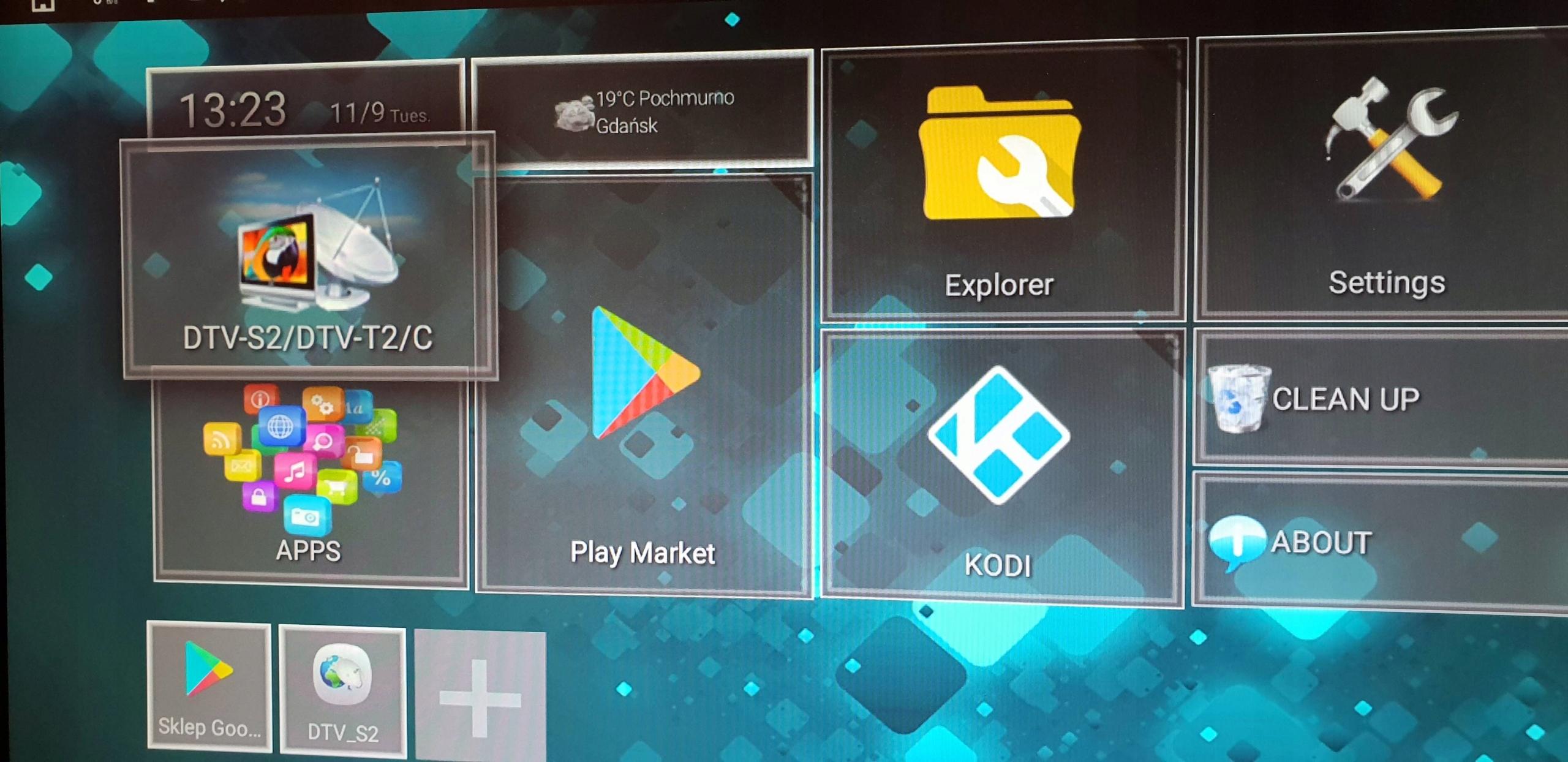 Android TV Box KII PRO DVB-T2/S2 2/16GB 4K WiFi - 7561595599