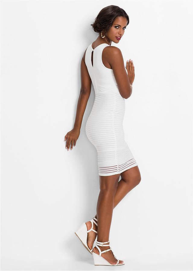 e54571bf69 Sukienka biały 34 XS 917481 bonprix - 7111579634 - oficjalne ...