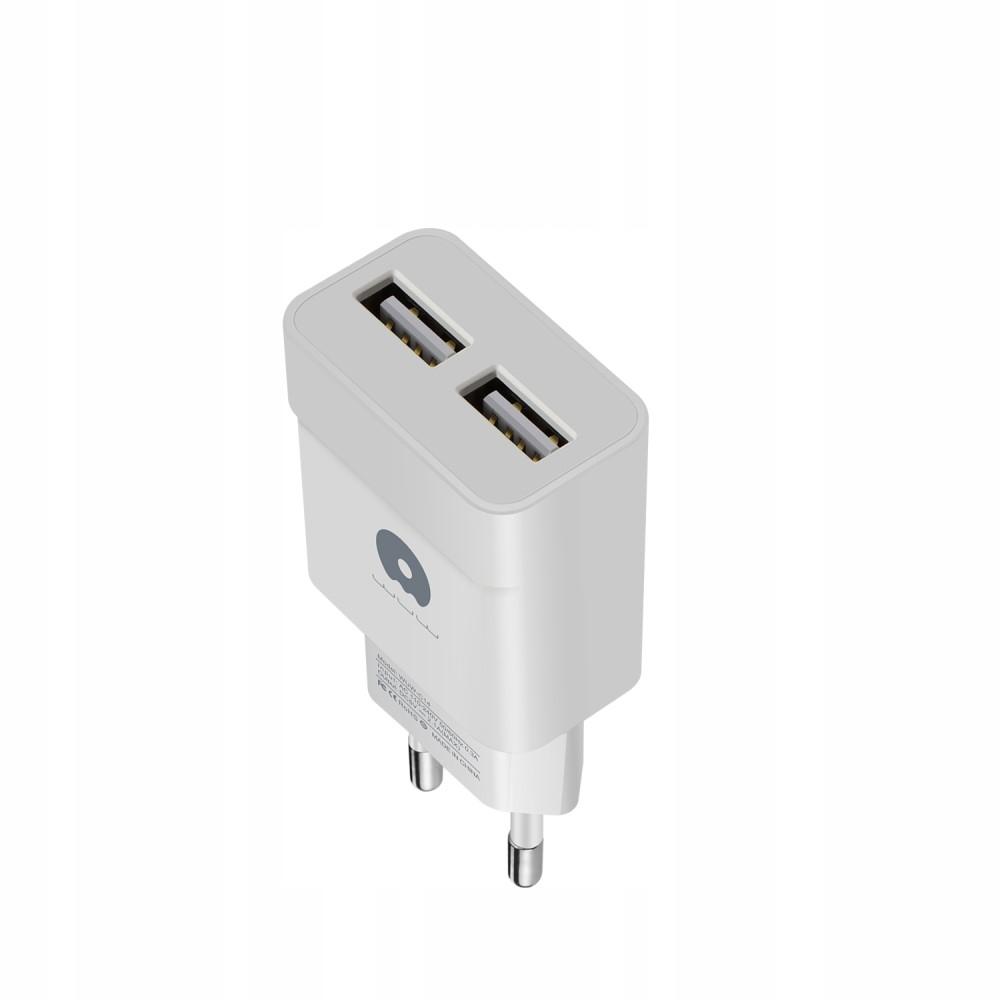 ADAPTER 2 PORTY USB ŁADOWARKA SIECIOWA IPHONE IPAD