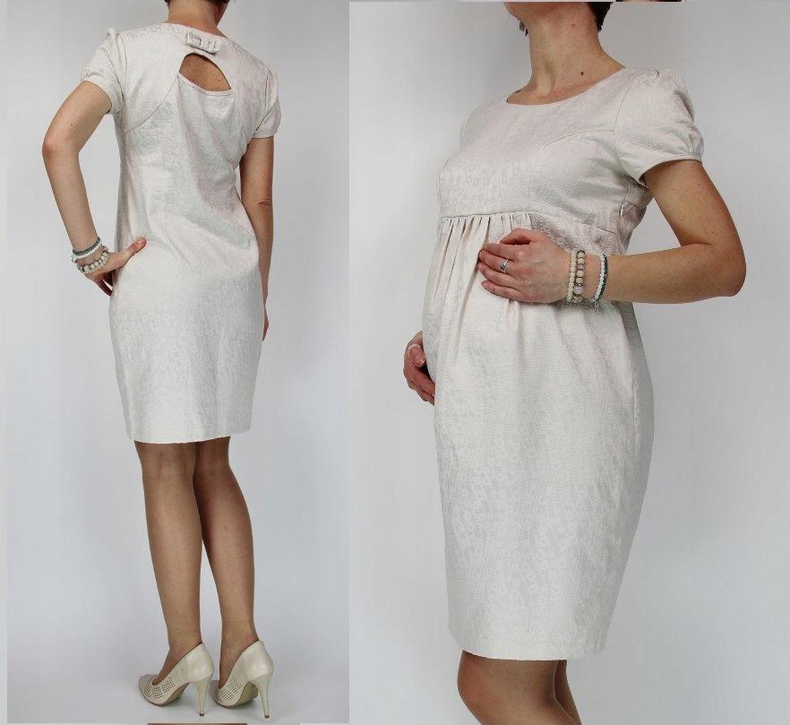 Elegancka Sukienka Ciąża Wesele Xxl Gratis 7233716906 Oficjalne