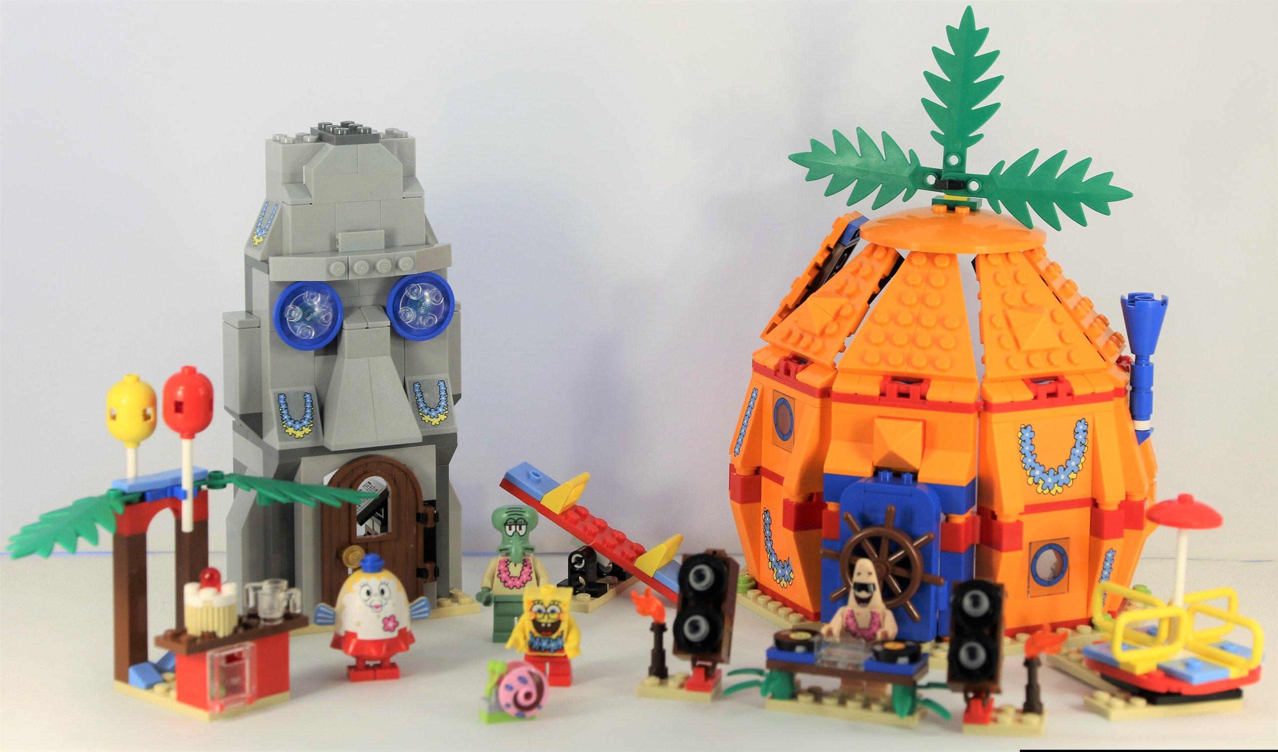 LEGO SpongeBob - Podwodne przyjęcie na dnie (3818 ...