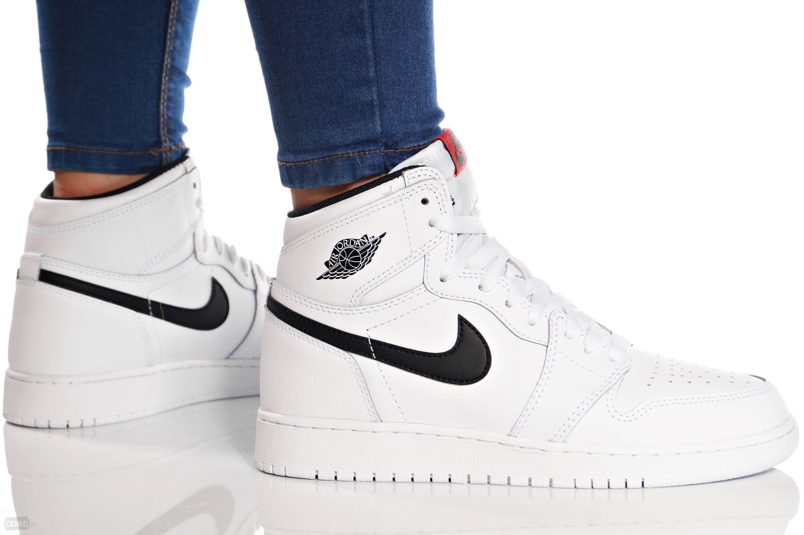 Nowy Moda Damskie Sportowe Buty Air Jordan 1 Mid BG ROZ biel
