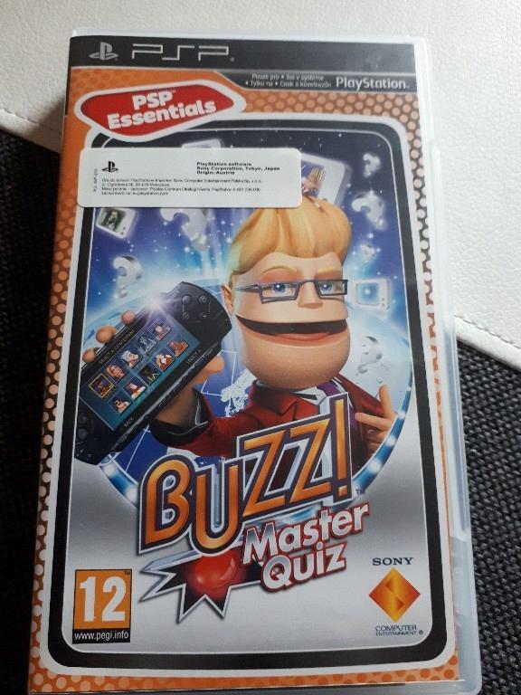 PSP Buzz Master Quizz polska wersja językowa