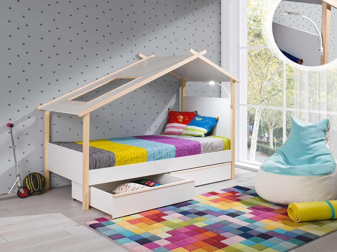 łóżko Dla Dziecka Roksa 90x200 Meble Bik 7360855621