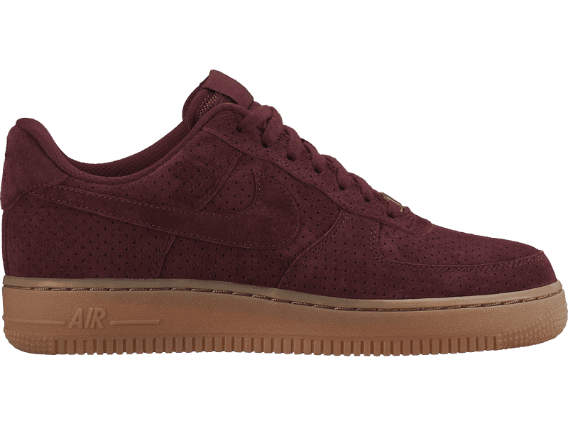 best service a44be b18ac Nike Air Force 1 Low Suede (749263-600) r.