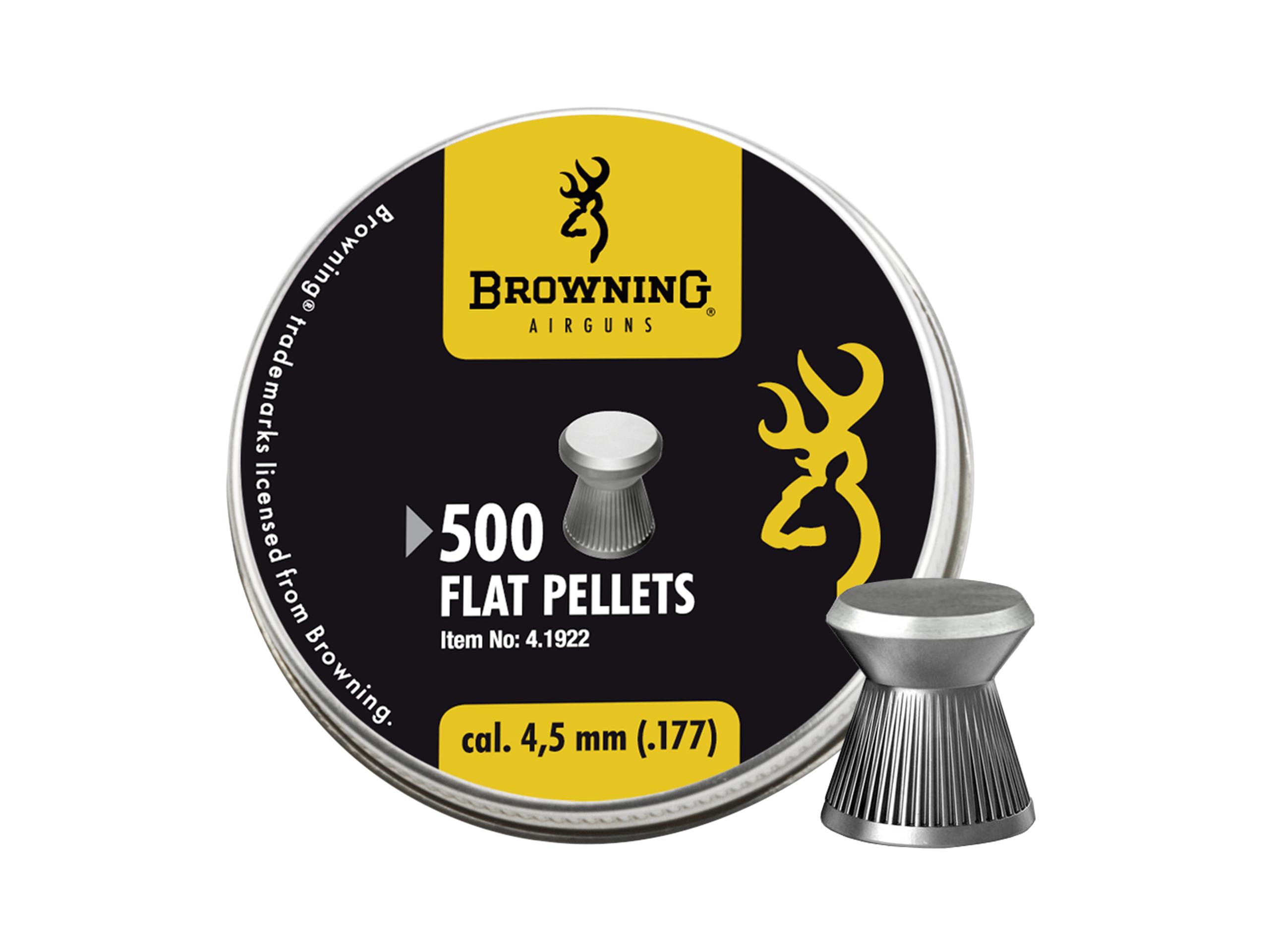 Śrut diabolo Browning Ribbed gładki 4,5 mm 500