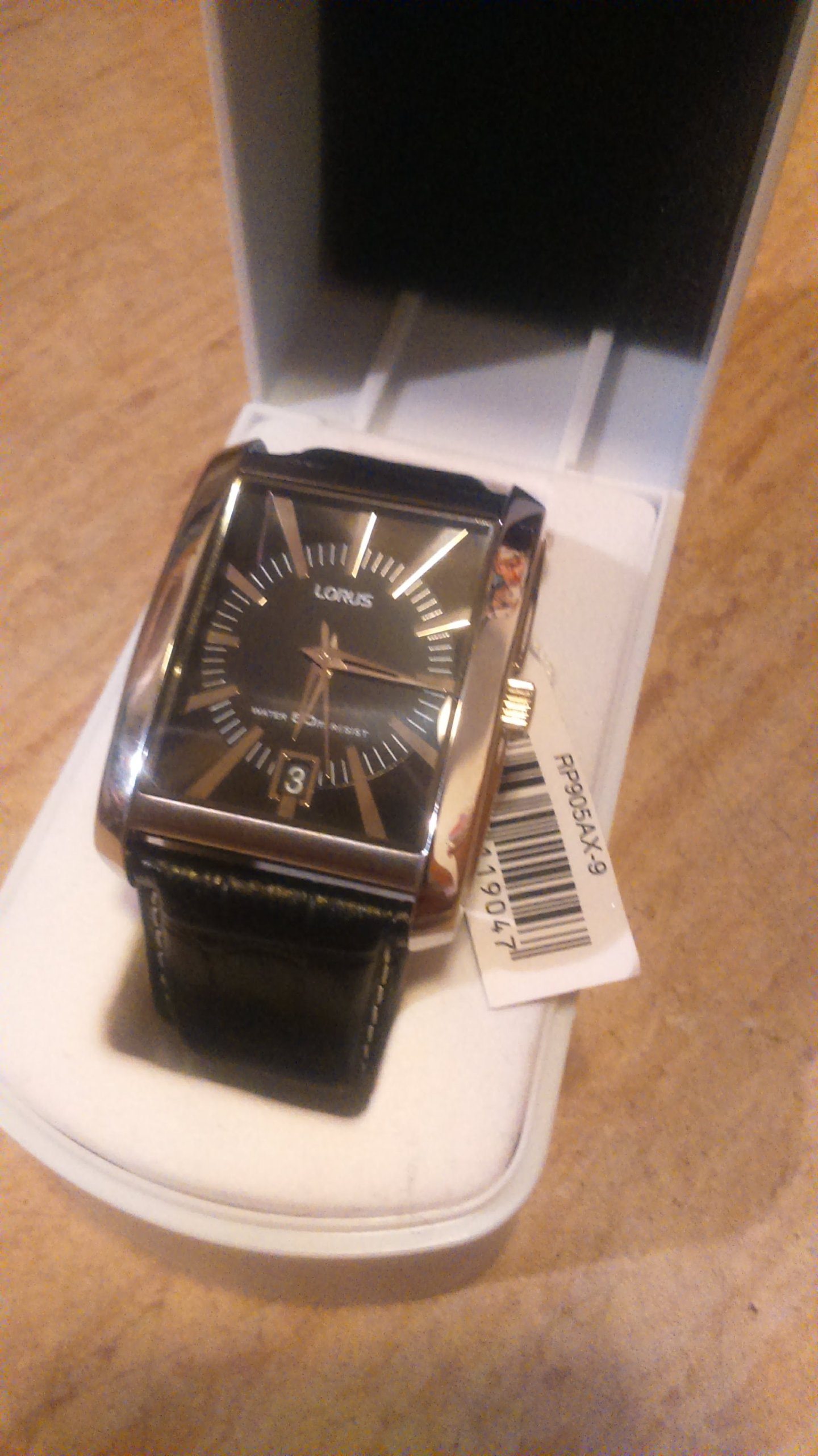 zegarek LORUS czarny (stan idealny)
