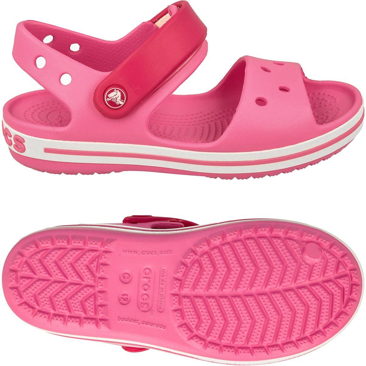 ebf4c8eae02ce Sandały Crocs Crocband Jr 12856 różowe 23-24 - 7005996116 ...