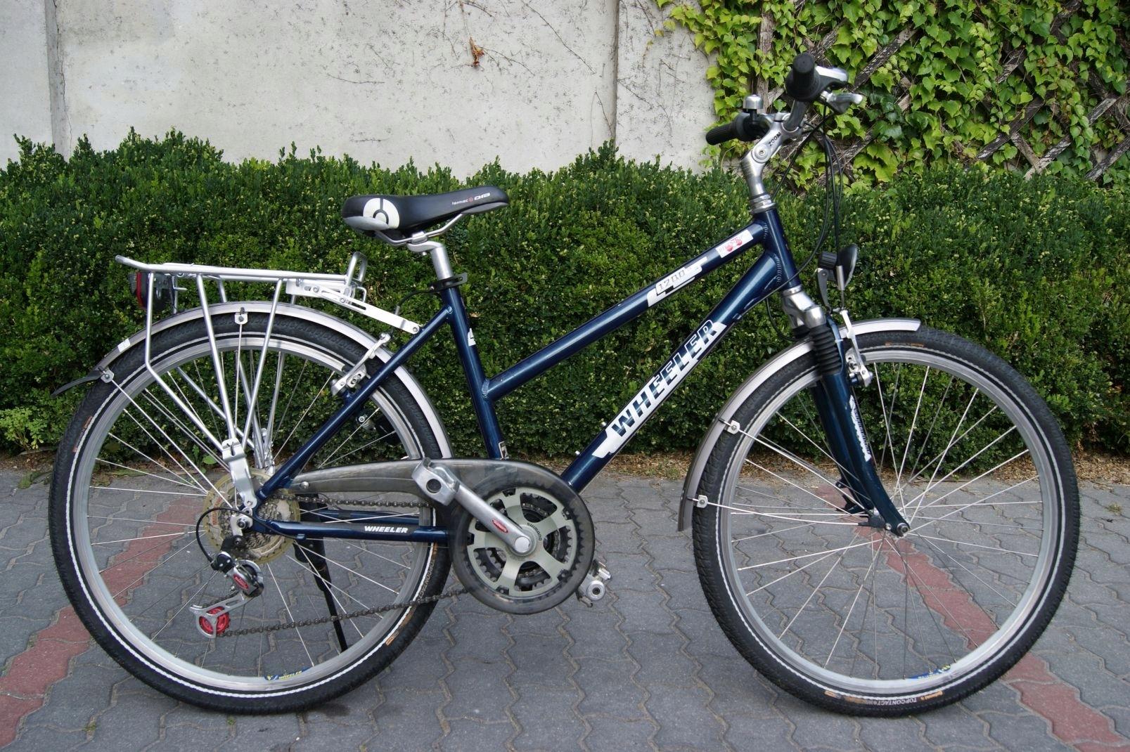 Aluminiowy rower miejski damka Wheeler 26''koła